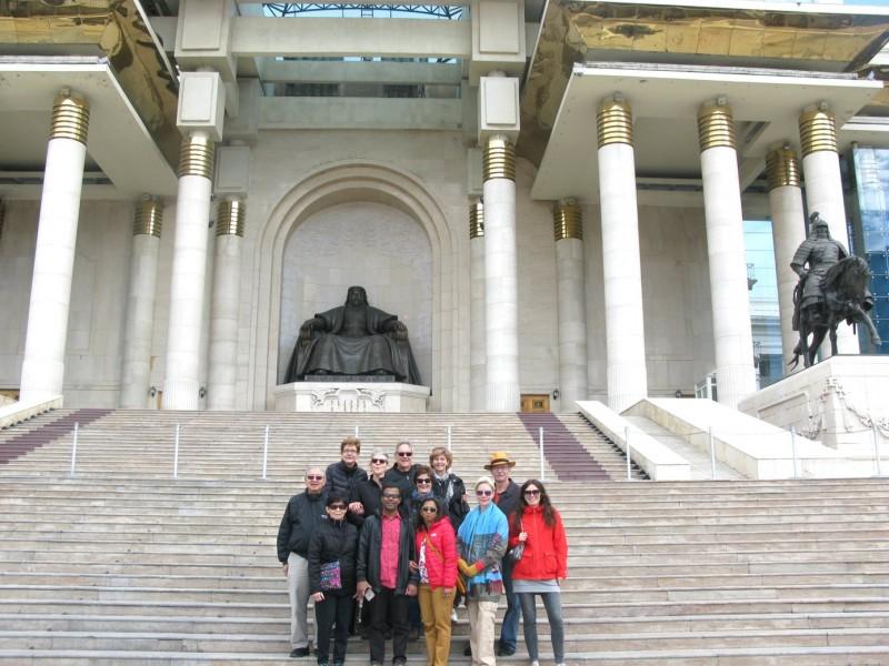 ulan bator mongolia parliament-building
