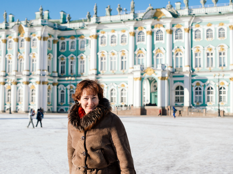See the Hermitage and book Moscow to St. Petersburg rail tickets on russiantraintickets.com