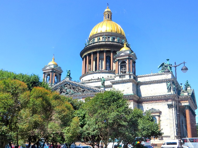 Travel All Russia - St. isaac's Cathedral