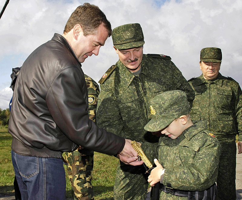 Dmitry Medvedev, Alexander Lukashenko