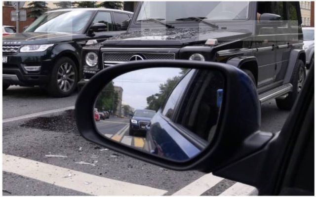 Yesterday Self Driving YANDEX Car Got in Accident in Moscow