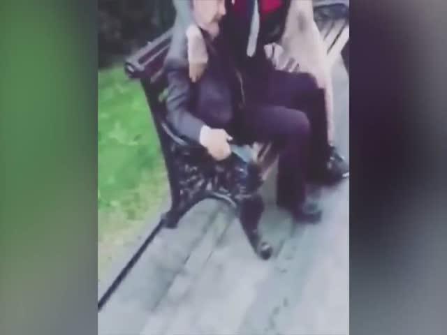 British Fan Molest Lenin Doppleganger [video]