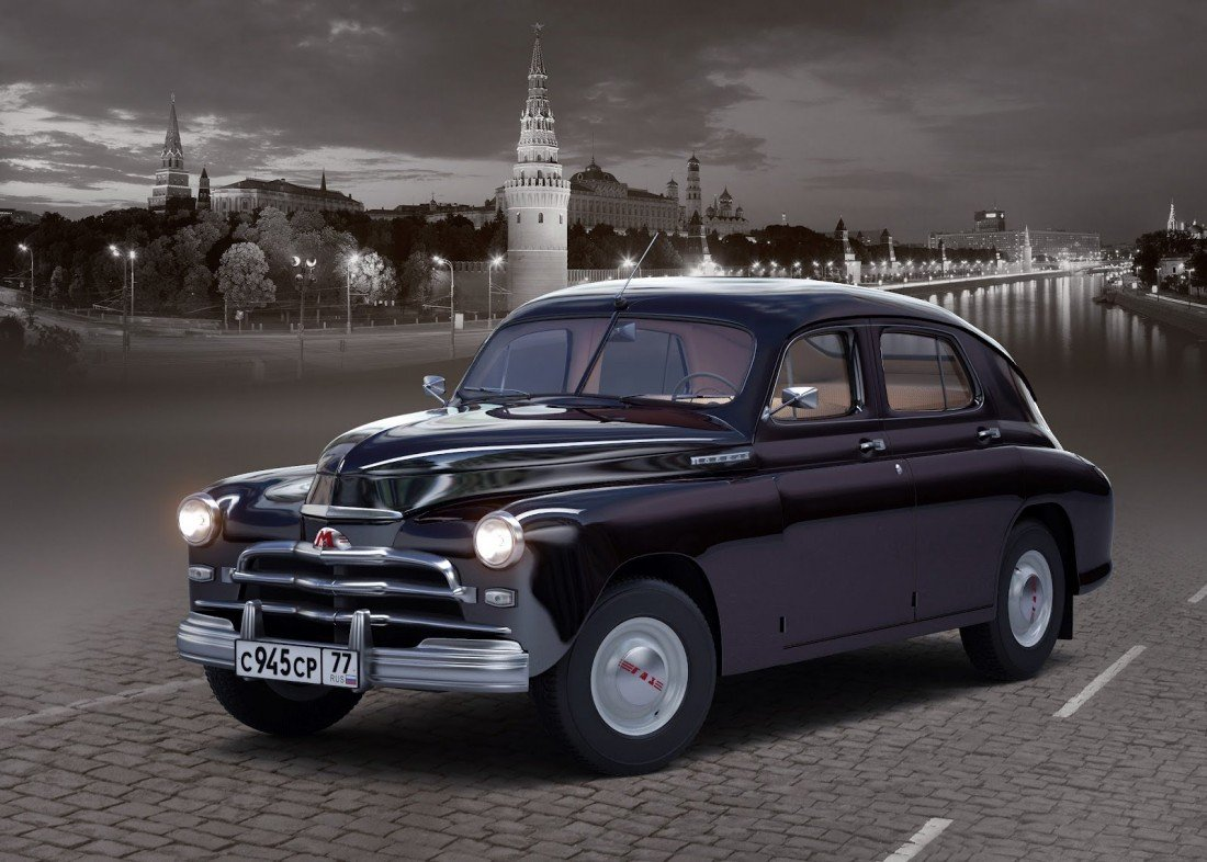 BMW and Soviet Pobeda Mixed Into One Car, Result is This: [photos]