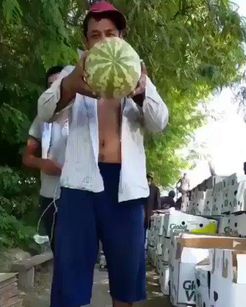 Unbreakable Watermelon from Uzbekistan [video]