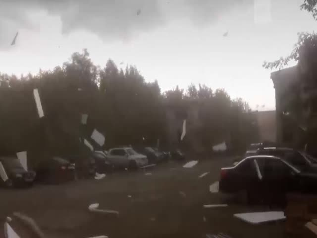 Strong Winds in Perm [video]