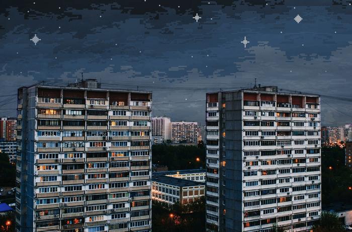 8-bit Skies Over Russia