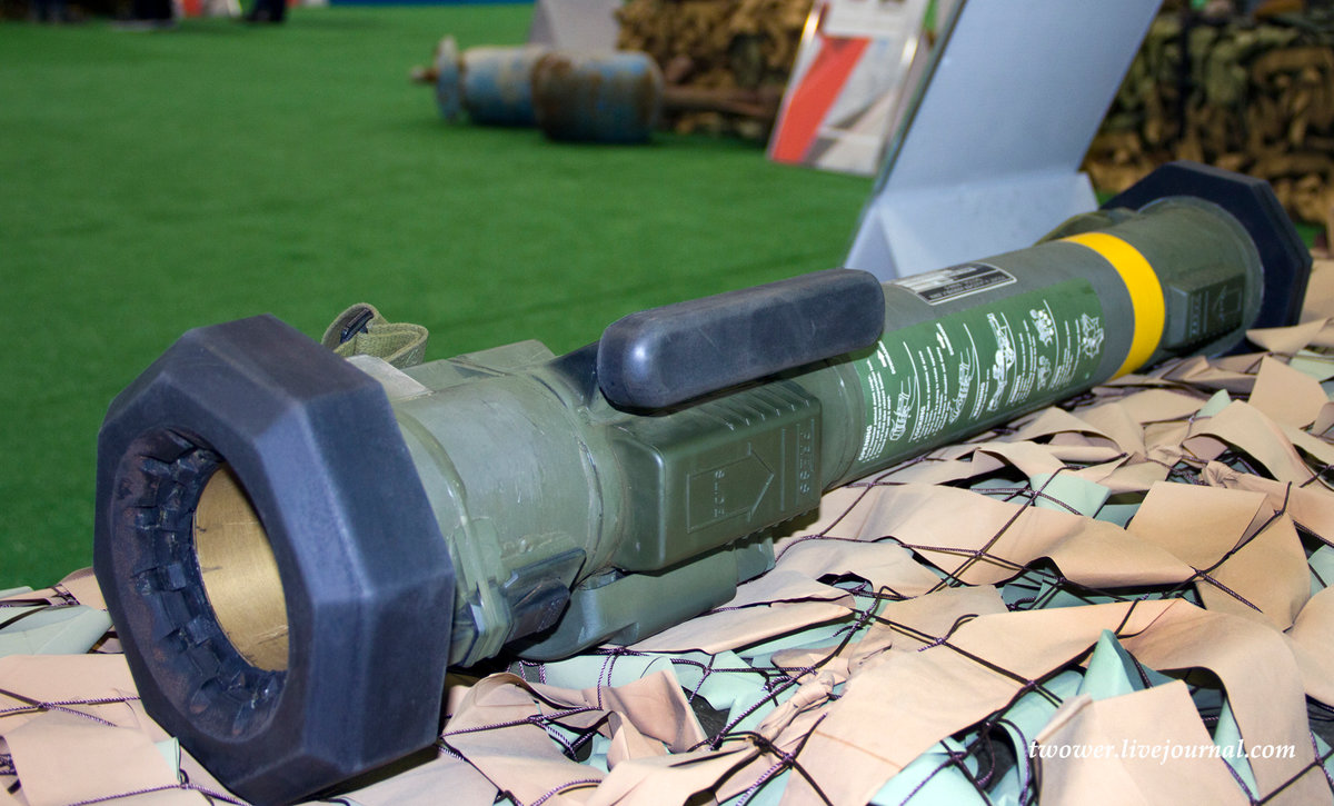 Hand Grenade Launchers of Syrian Militants on Display in Russia