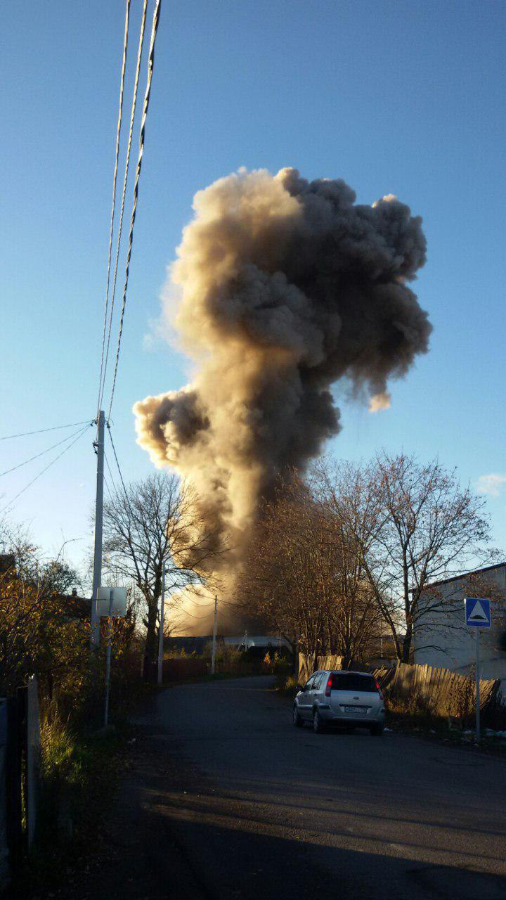 UPDATED: An Explosion and Fire at AVANGARD Factory near St.Petersburg
