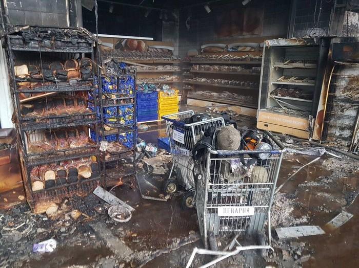 Fire in a Hypermarket