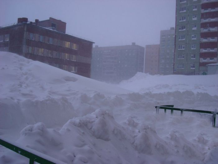 Windy Day in the Norilsk