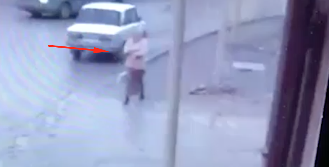 Accident in Chechnya, Russia
