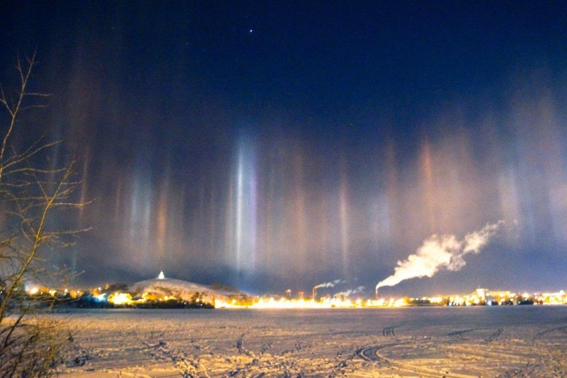 Weird Phenomena in Skies