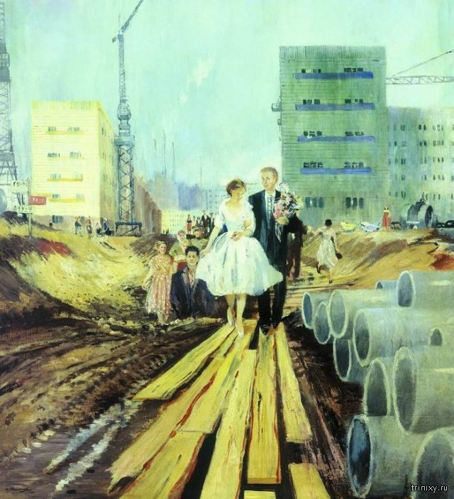 Soviet Socialism In Old Paintings