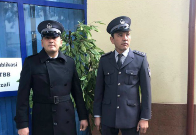 Just a New Uniform For Police in Uzbekistan