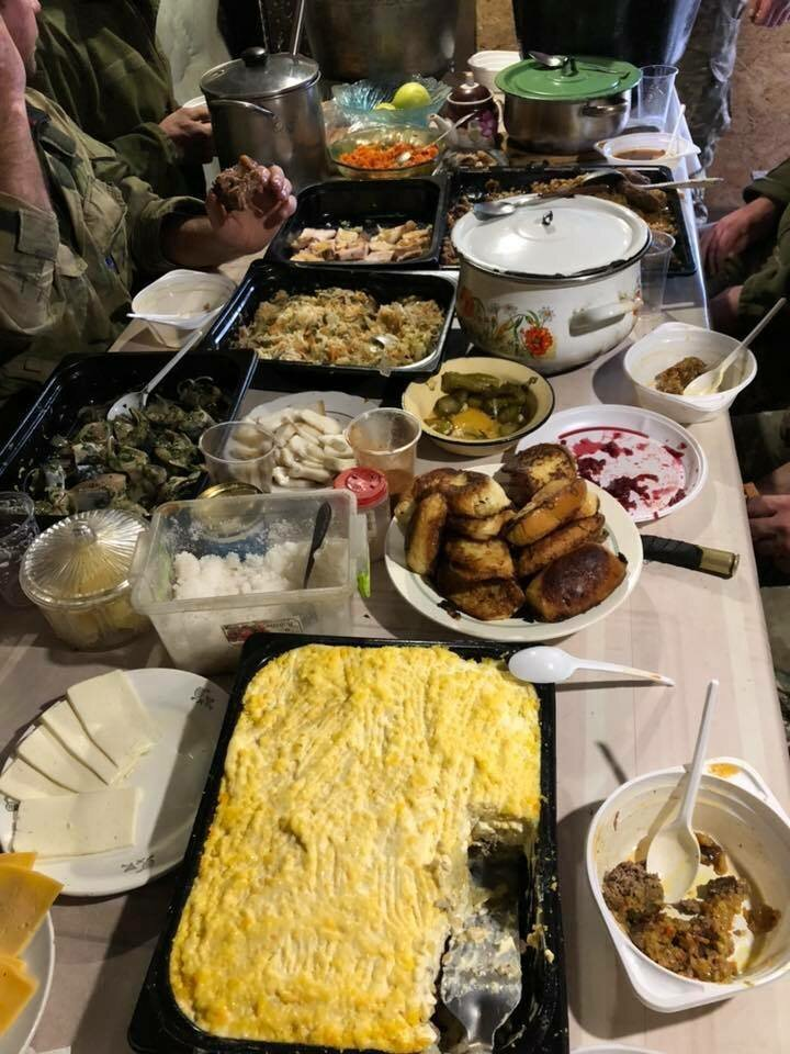 All of a Sudden: Much Better Food For Ukrainian Soldiers