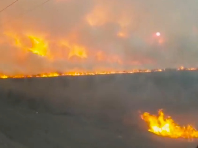 Crazy Winter Forest Fires in Russia [video]
