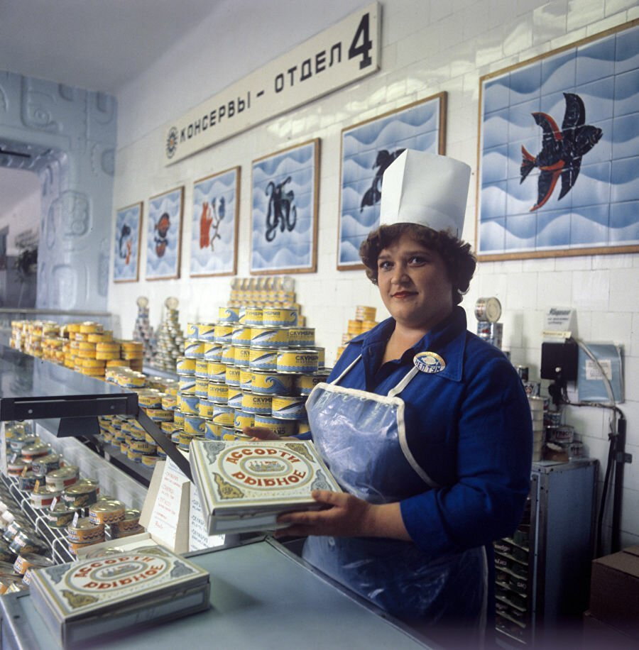 Soviet Shops And Markets