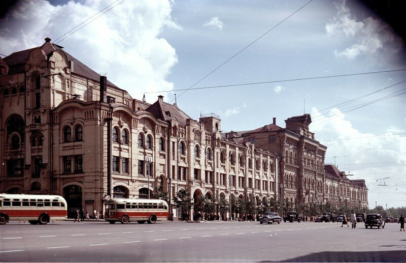 Moscow of the 1950s