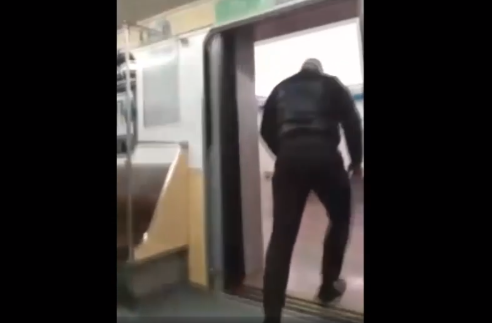Terminator In the Subway