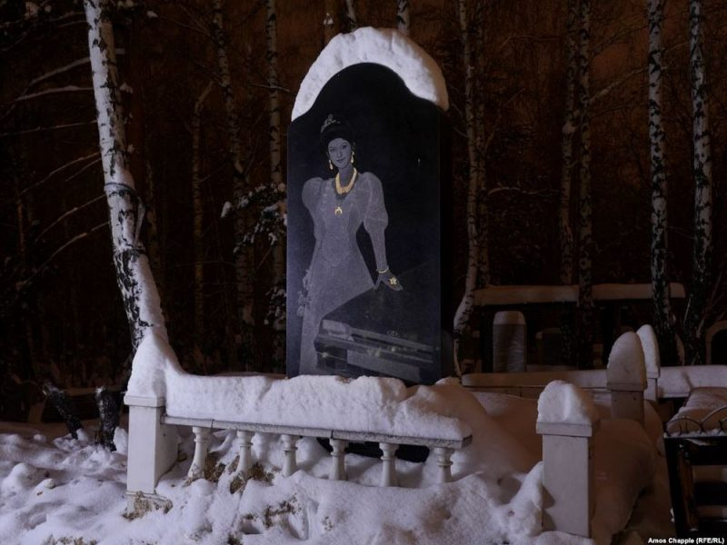 Weird Grave Stones of the Russian Bandit Cemetery