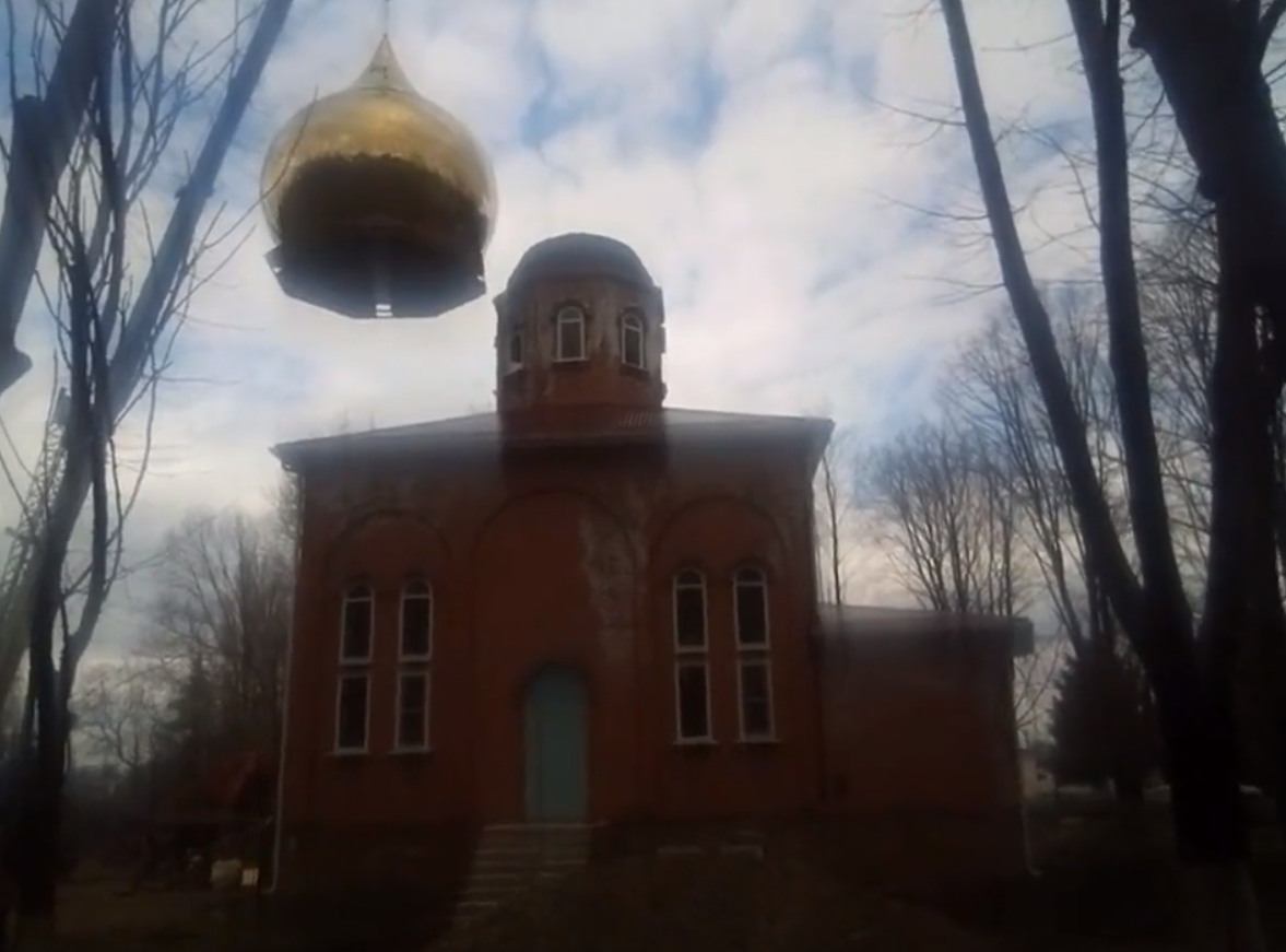Dome Fell On the Church In the Process of Mounting