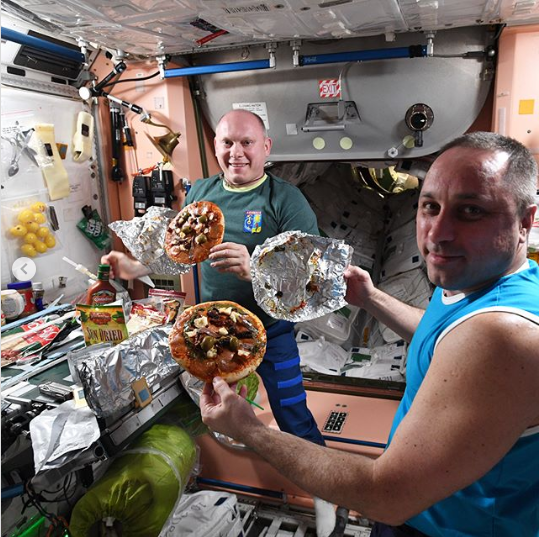Pizza, Ice Cream And Mayo Salad: What Russian Astronauts Eat In Space