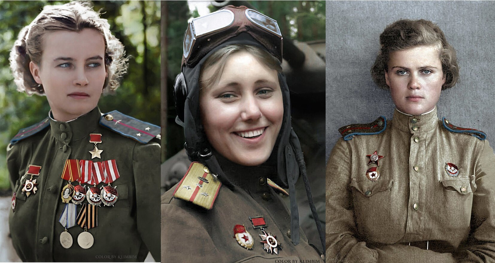 Lost Colors Restored: Soviet Soldiers of WWII
