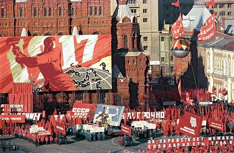 The 1st of May: The Holiday of All Soviet Working People