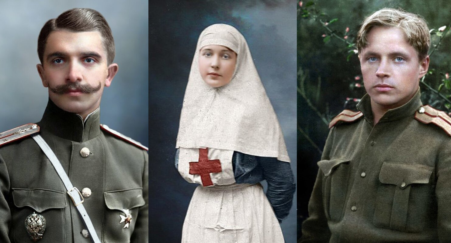 Lost Colors Restored: Images of World War I