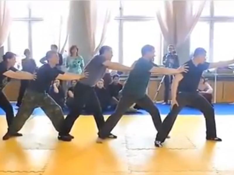 Sensei Shows His Amazing Skills