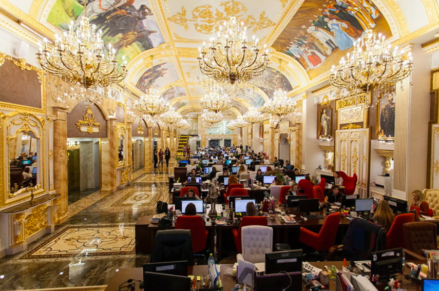 The Dream Office That Looks Like a Palace
