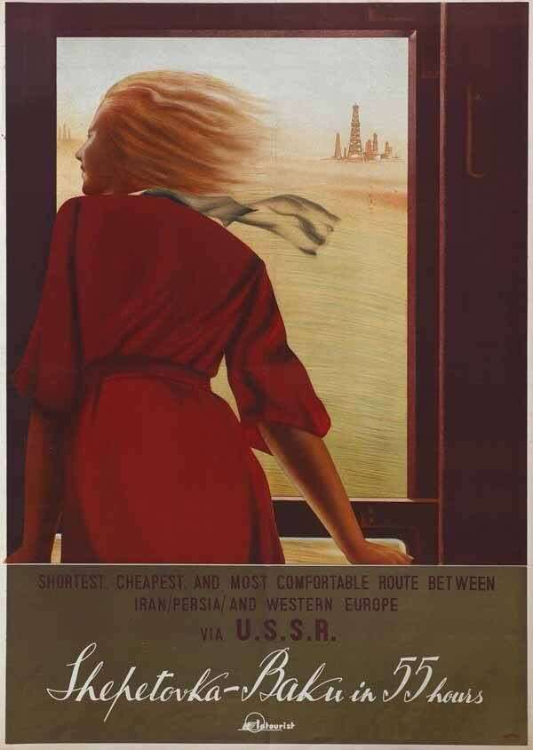 Travel to the USSR: Exhibition of Memorable Posters