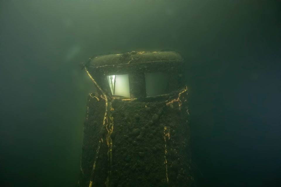 Soviet Submarine Found On the Bottom of the Baltic Sea