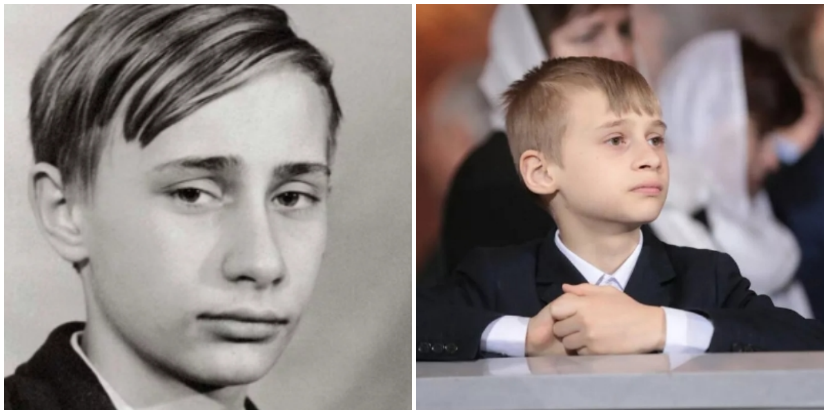 Could This Boy Be a Son of Putin?