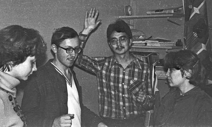 Dancing Parties In the 1980-90s