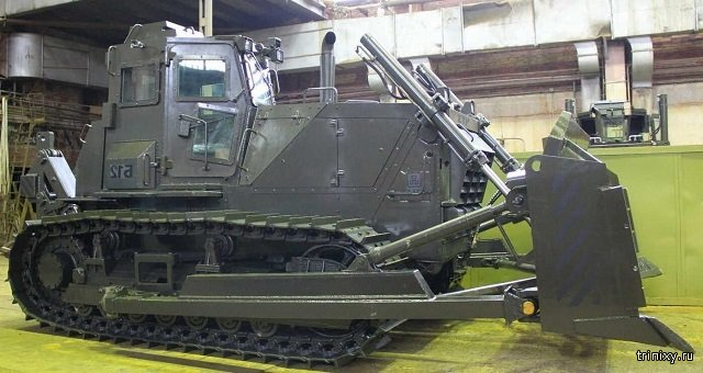 Russia Is Going To Make the First Combat Tractor
