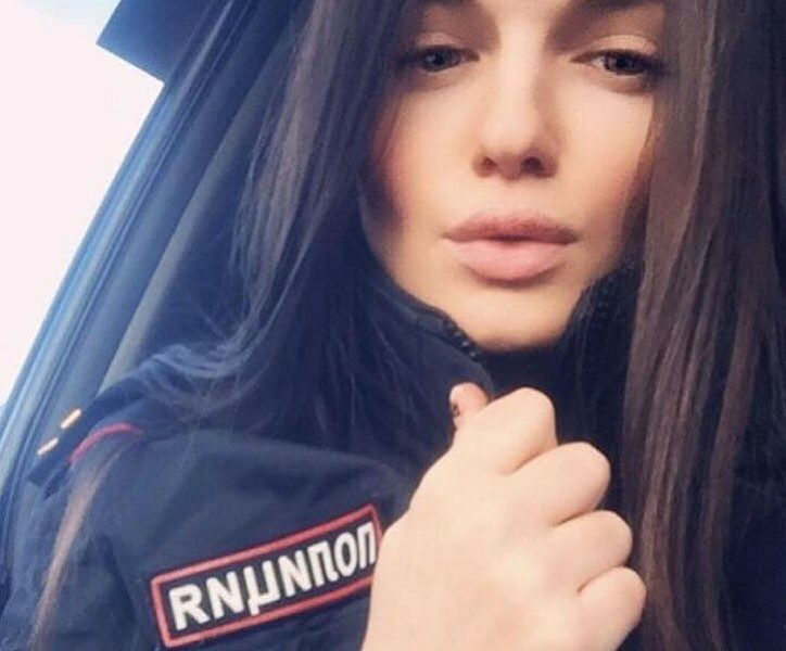 Beauties From the Russian Police