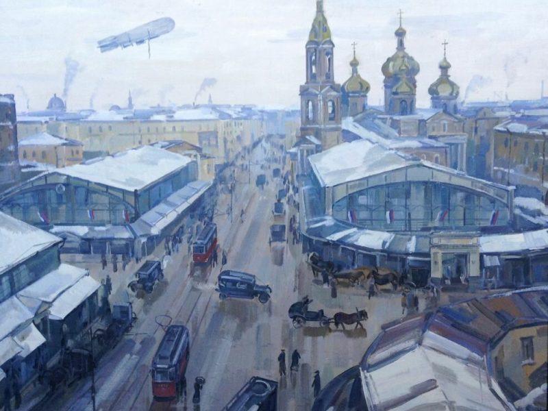 Paintings Inspired By Saint Petersburg