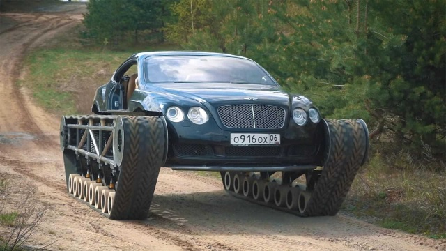 Elite Bentley Continental GT Turns Into Unique All-Terrain Vehicle