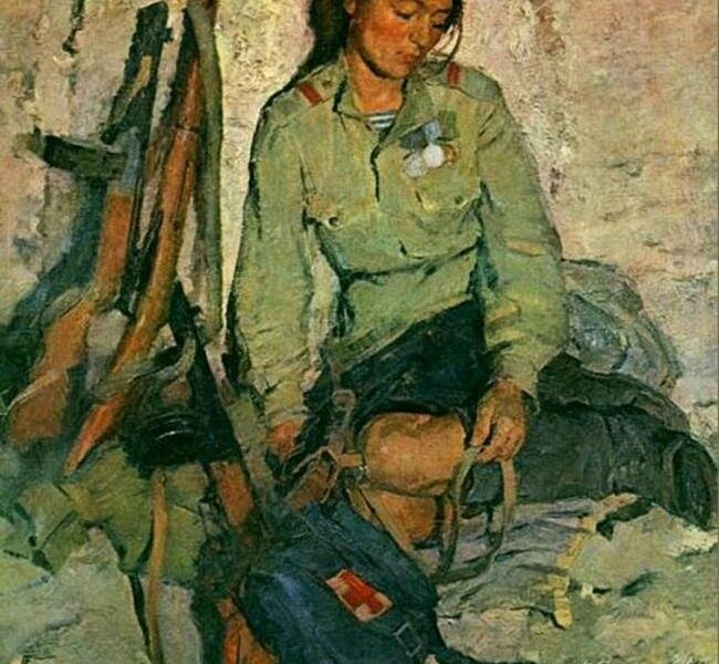 WWII In Soviet And Russian Paintings