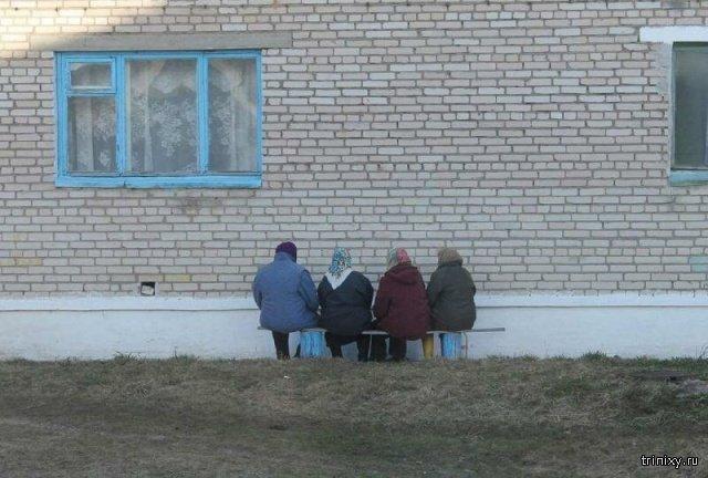 Weird And Tough Russian Babushkas