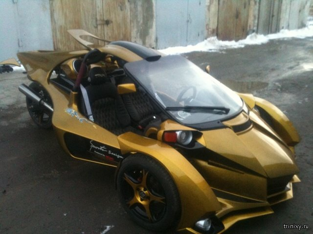 Sport Trike Made By the Russian Enthusiast