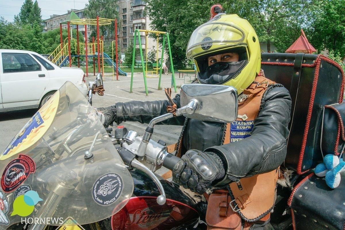 Tough Lady Biker Sevastiana