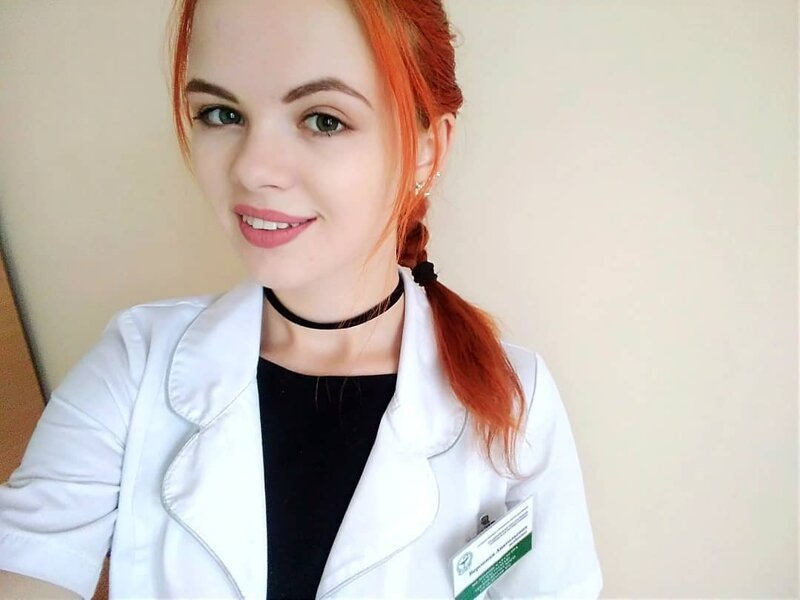 Pretty Russian Medical Workers