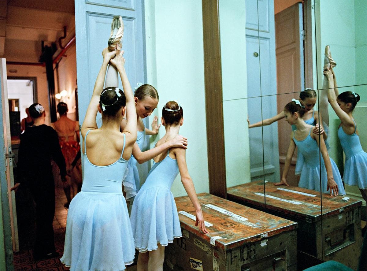 фотопроект о русской балетной школе