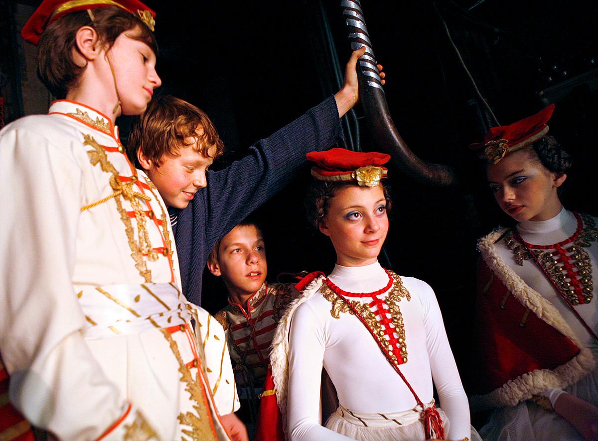 Рэйчел Папо дети балет фото