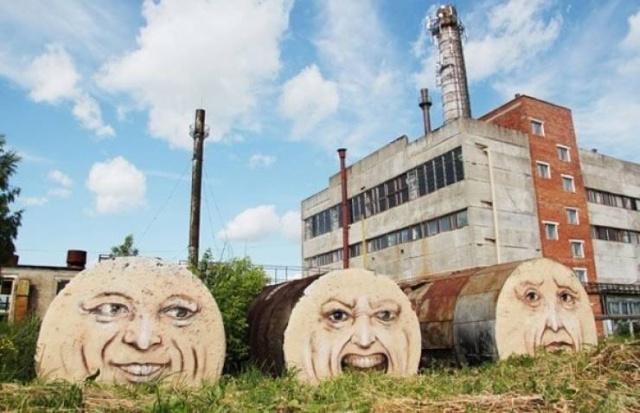 Street Art From Nikita Nomerz