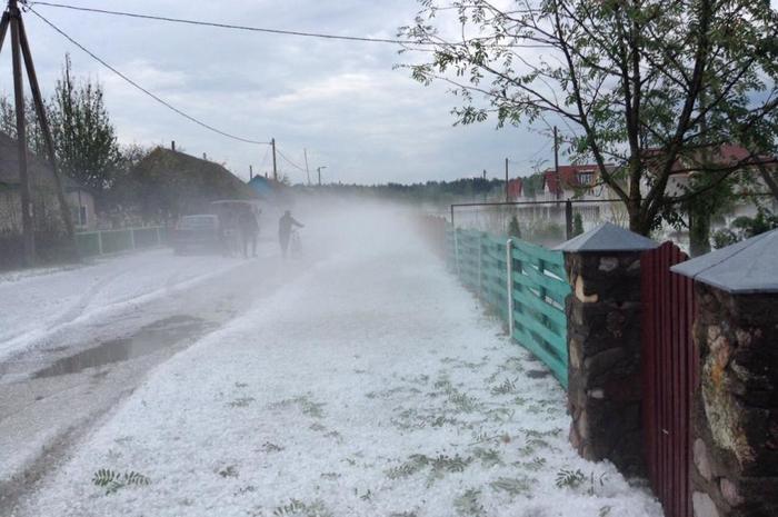 Суровое белорусское лето