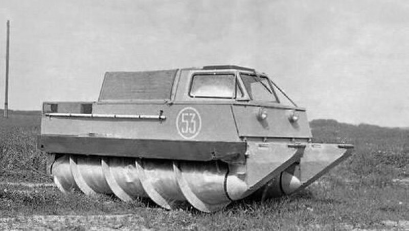 Cool Soviet Vehicle For the Space Industry
