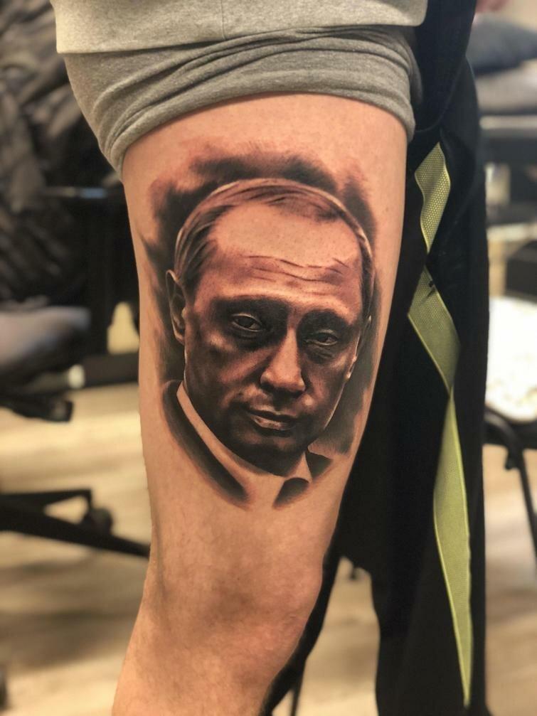 28 татуировок, посвящённых России, наполненных странной русской душой креатив, рисунок, россия, тату, татуировка, тело, фантазия